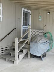 Surfside Beach house photo - Side Door and Grill
