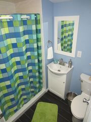 Wildwood Crest apartment photo - Bathroom with shower