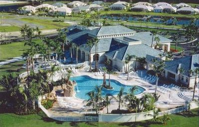 MAIN POOL AND CLUBHOUSE