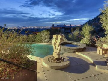 Scottsdale Troon house rental - Breathtaking city lights views from back patio