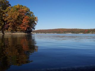 Enjoy all the beautiful fall colors at the lake. One of the best times to visit!