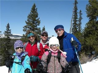 Evergreen house photo - A Family Day of Snow Shoeing at close by Beautiful Mt. Evans Wilderness Area