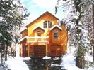 Picturesque winter view with snow - Tahoe Donner house vacation rental photo