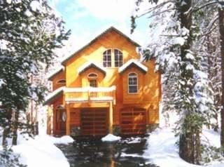 Tahoe Donner house rental - Picturesque winter view with snow