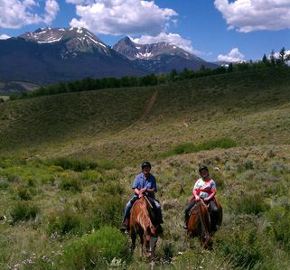 Summer Fun--Horseback Riding near Silverthorne!