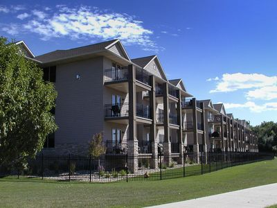 Walk everywhere! Only four bedroom for rent in complex! lakeokobojirentals.com