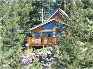 The Cabin in Summer Splendor  (Don't worry: Cabin is Easy to Get to!)