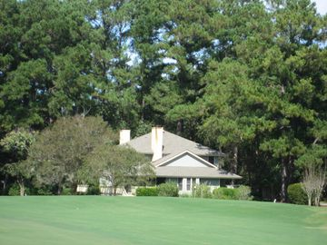Villa from 9th green on Palmetto course