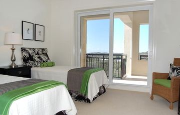 Guest Bedroom w/ Private Bath and Balcony