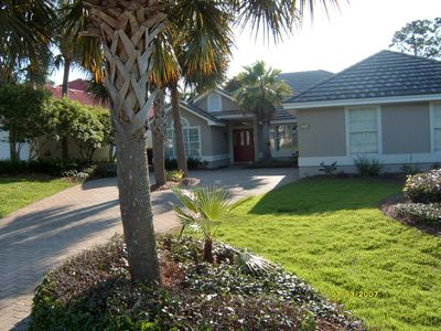 Home has 2-car garage and ample driveway parking.