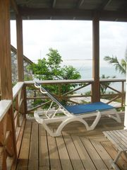 Great Exuma cottage photo - Deck facing South