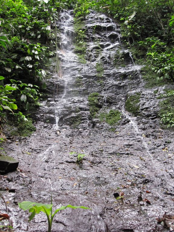 Explore a couple of KMs of waterfall trails.