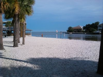 Hudson house rental - View of the Gulf of Mexico from Hudson Beach