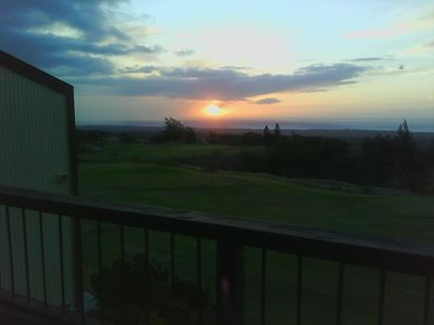 Sunsets over the Pacific every night. During the day Maui seen from lanai!