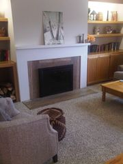 Warren condo photo - Wood burning fireplace