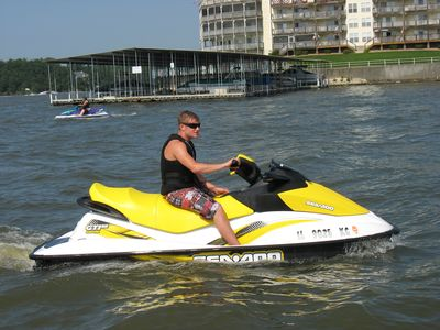 Rent a seadoo for a couple of hrs. Tons of fun!!