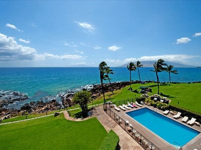 This is the view from your lanai!