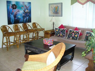 Isle of Palms house rental - 1st floor family room