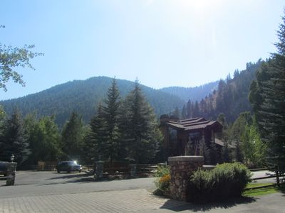 View from the front door of the property.