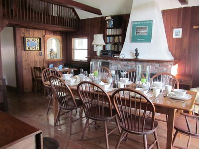 Dining Room (part of original boat house)