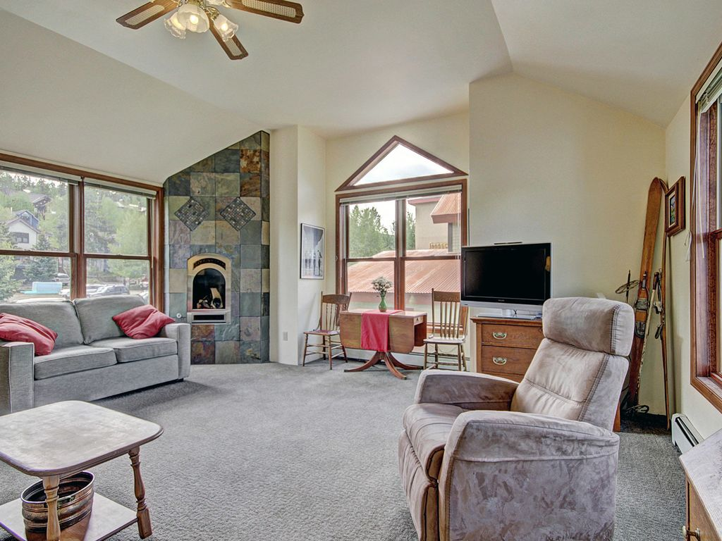 Space to stretch your weary legs or build a lego city.  Gas fireplace.