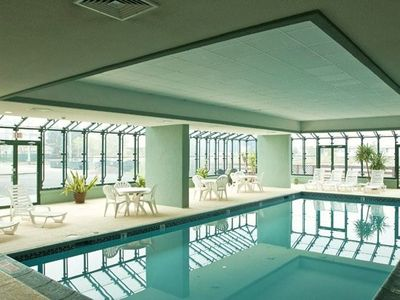 Come relax in the Indoor Pool Solarium