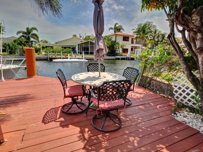 Delray Beach house rental - Outdoor dining.