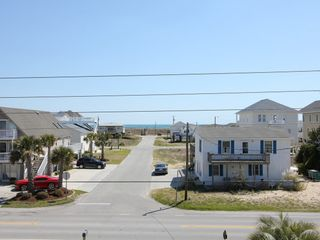 Surf City house photo - View of Ocean and Beach Access from the Sun Deck