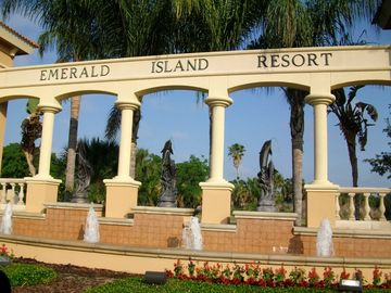 Emerald Island Resort Entrance