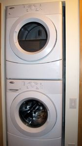 In-suite front-loading washer & dryer