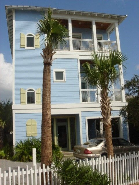 Seaside house rental - Azure Leisure- four story 3300sqft.