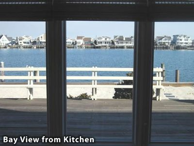 Bay View from Kitchen