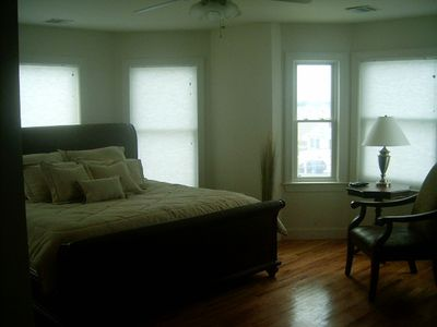 LBI Oceanfront House for Rent - Master Bedroom
