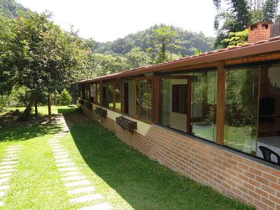 Beautiful house in Lumiar, to the river, with 4 suites and less than 1km from the center.