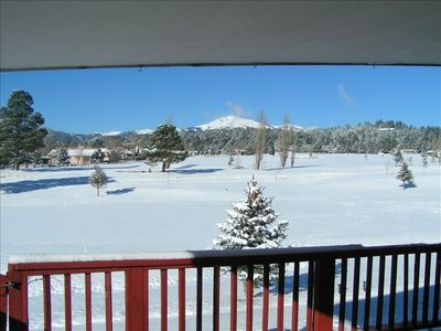 Time to ski, the course is covered up !  Did I mention the snow??
