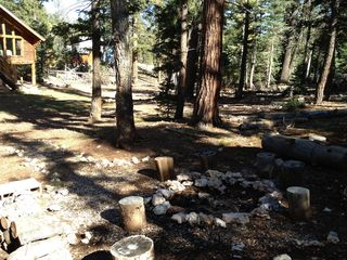 Duck Creek Village cabin photo - Outside View with Firepit