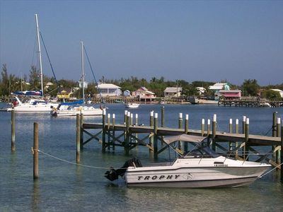Experience the quaint settlement of Great Guana Cay