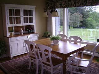 Whitefield house photo - dinning room off kitchen