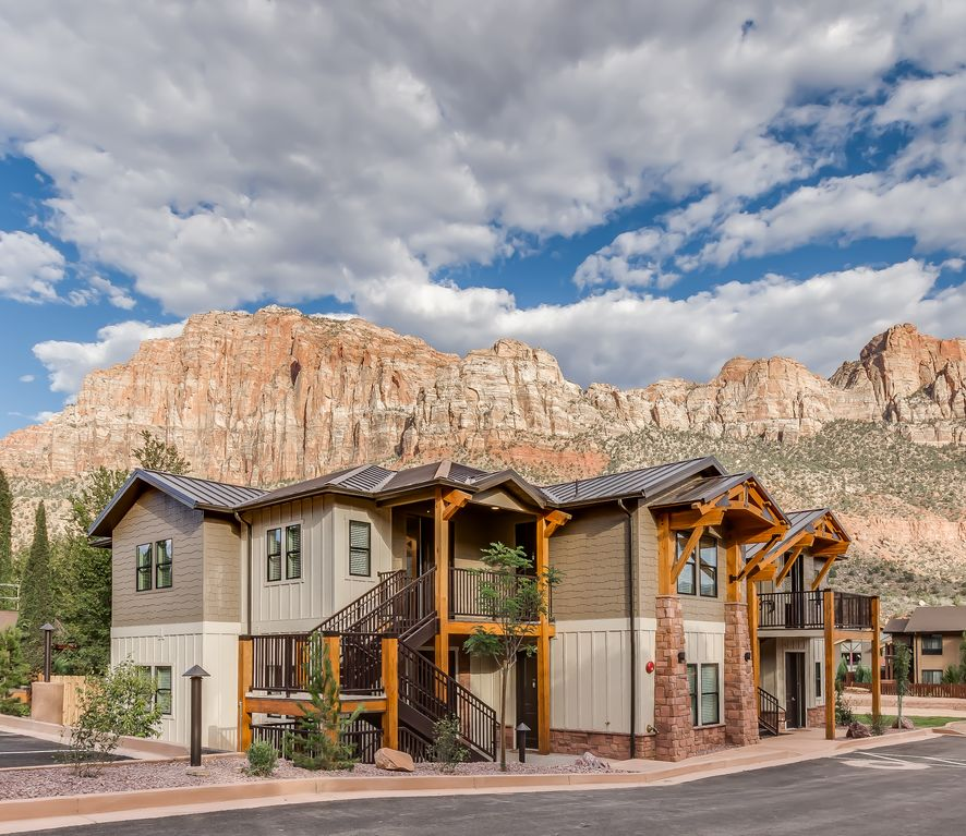Zion national park 2 bedroom villa in vrbo for Vacation rentals near zion national park
