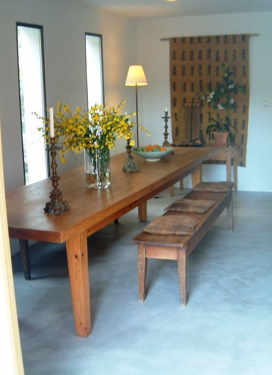Dining room of Cortijo