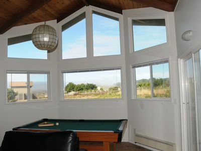 Game room with views to the North