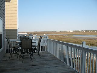 Ocean Isle Beach cottage photo - view from deck