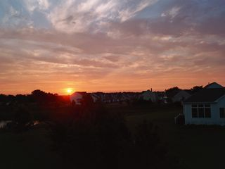 Bethany Beach condo photo - Sunset from deck