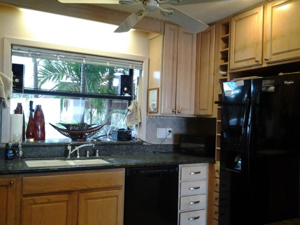 Everything for the kitchen  including a large food pantry. All new appliances.