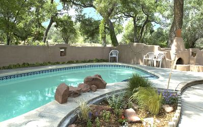 Albuquerque house rental - Pool is open seasonally.