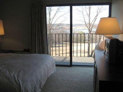 Master Bedroom with King Sized Bed, Balcony and Great View
