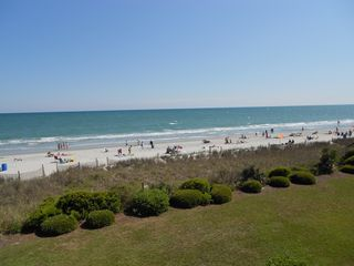 Long Bay Dunes condo photo - View of the Beach from the Balcony