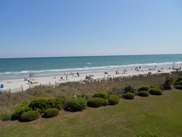 Long Bay Dunes condo rental - View of the Beach from the Balcony