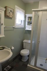Bridgehampton cottage photo - bathroom w/ shower downstairs
