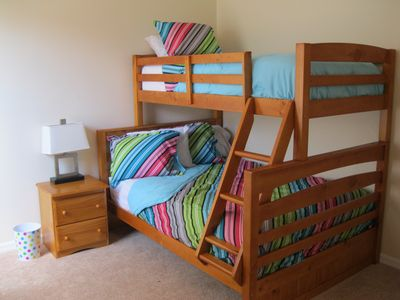 Third Bedroom with Full/Twin Bunk Bed